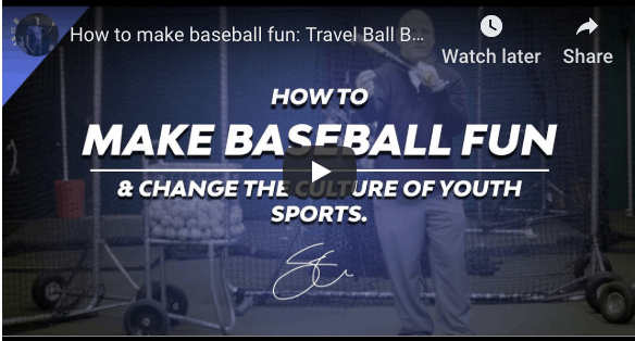 Youth Baseball Motivation – How To Encourage Ballplayer's Development While Keeping Perspective.