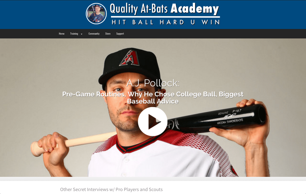 Interview with A.J. Pollock - Arizona Diomandbacks