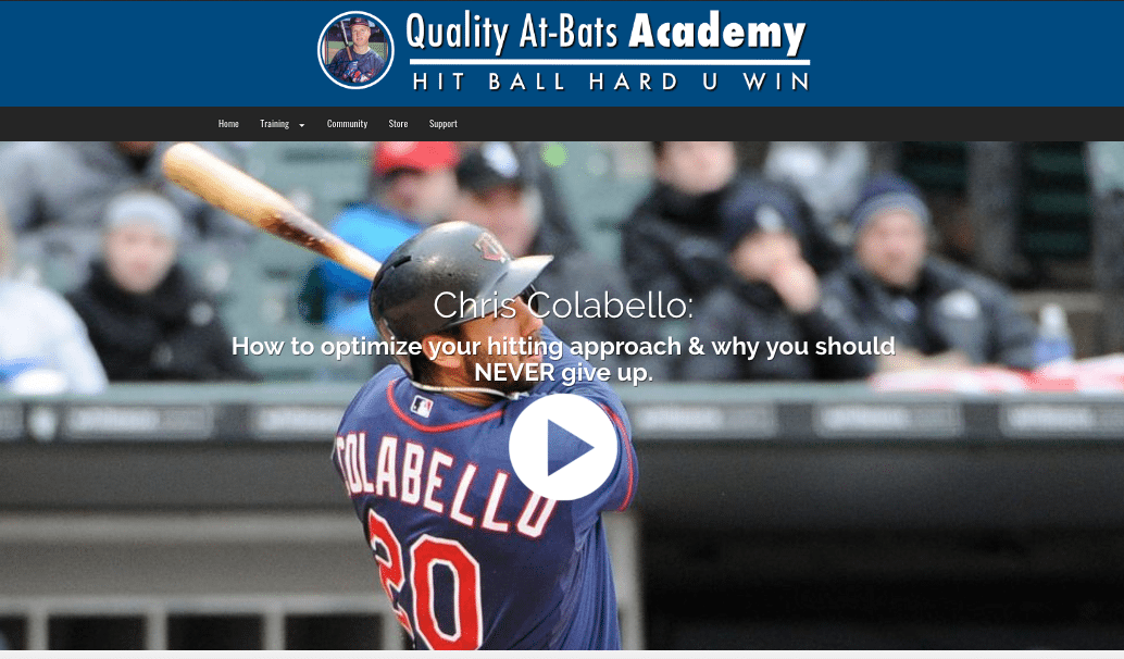 Interview with Chirs Colabello. Major League Slugger.