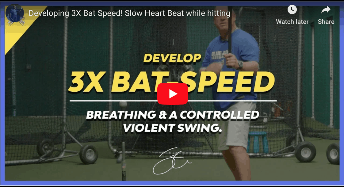How To Develop 3X Bat Speed.