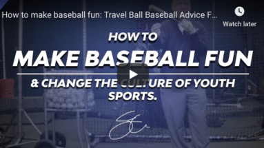 Baseball Parenting Advice. Dealing W/ Bad Coaches. (Johnny Testosterone)