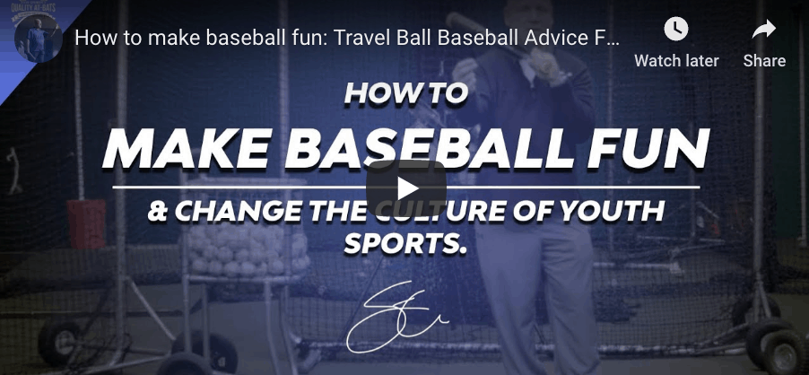 Baseball Parenting Advice & Bad Coaches.