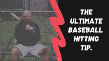 Ultimate baseball hitting tip