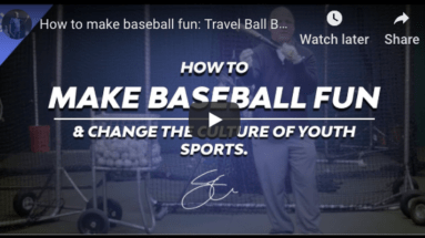 Youth baseball motivation - How To Encourage Ballplayer's Development While Keeping Perspective.