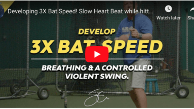 Achieving calmness at the plate