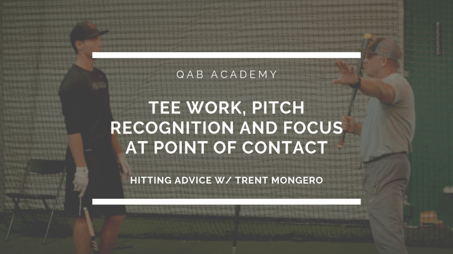 Pitch Recognition & Focus Tips At The Plate.
