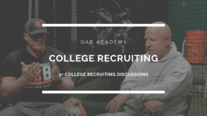College baseball recruiting trent mongero