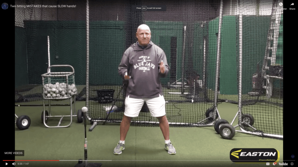 Two hitting MISTAKES that cause SLOW hands.