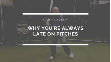 Two Reasons Why You're Late on Pitches