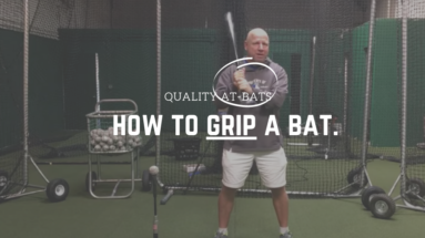 How to Grip a Baseball Bat: Baseball Bat Grips